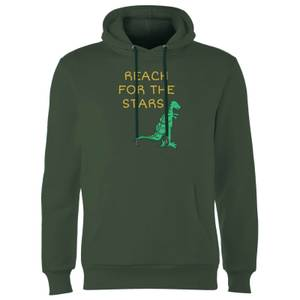 Reach For The Stars Hoodie - Forest Green