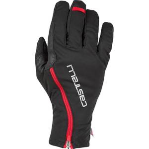 Castelli Spettacolo RoS Gloves - Black/Red