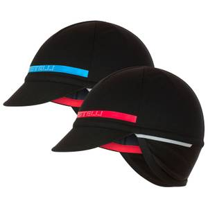 Castelli Difesa 2 Cap - Black