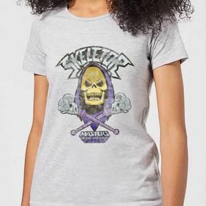 Camiseta He-Man Masters del Universo Skeletor - Mujer - Gris