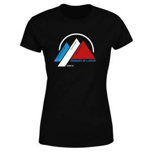 Bagneres De Luchon Women's T-Shirt - Black