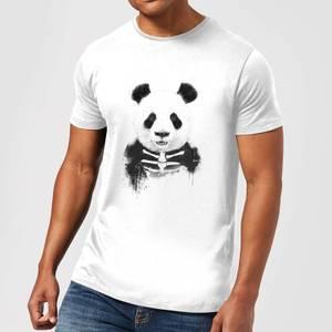 Balazs Solti Skull Panda Men's T-Shirt - White