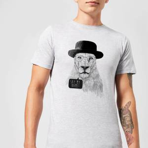 Balazs Solti Say My Name Men's T-Shirt - Grey