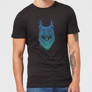 Balazs Solti Wolf Men's T-Shirt - Black