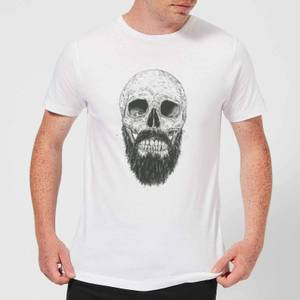 Balazs Solti Bearded Skull Men's T-Shirt - White