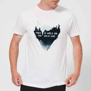 Balazs Solti Take A Walk On The Wild Side Men's T-Shirt - White