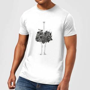 Balazs Solti Ostrich Men's T-Shirt - White