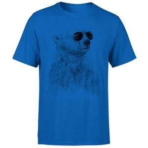 Balazs Solti Cool Bear Men's T-Shirt - Royal Blue