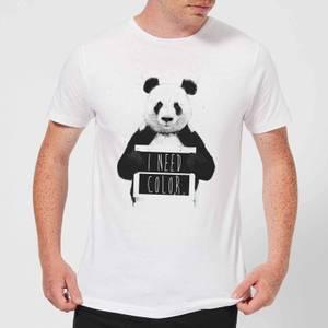 Balazs Solti I Need Color Men's T-Shirt - White