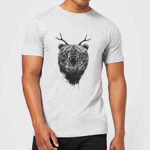 Balazs Solti Dear Bear Men's T-Shirt - Grey
