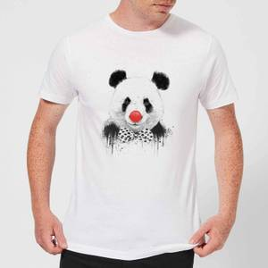 Balazs Solti Red Nosed Panda Men's T-Shirt - White