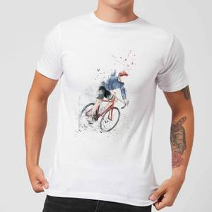 Balazs Solti Cycler Men's T-Shirt - White