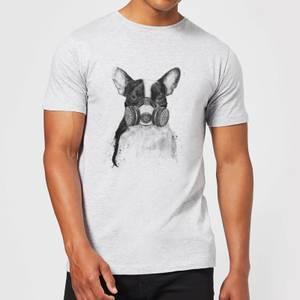 Balazs Solti Masked Bulldog Men's T-Shirt - Grey