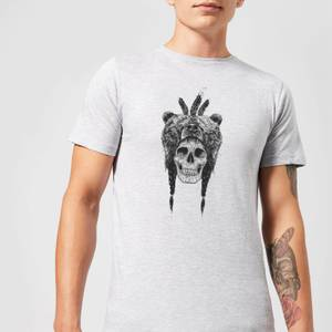 Balazs Solti Bear Head Men's T-Shirt - Grey