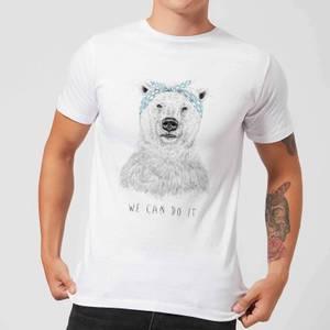 Balazs Solti We Can Do It Men's T-Shirt - White