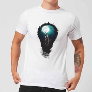 Balazs Solti NYC Moon Men's T-Shirt - White