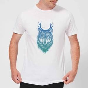 Balazs Solti Wolf Men's T-Shirt - White