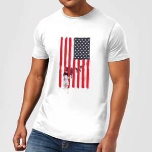 Balazs Solti USA Cage Men's T-Shirt - White