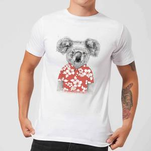 Balazs Solti Koala Bear Men's T-Shirt - White
