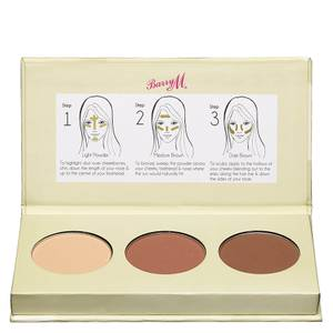 Barry M Cosmetics Chisel Cheeks Contour Kit - Light/Medium