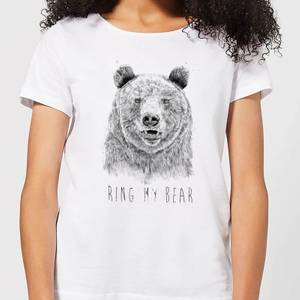 Balazs Solti Ring My Bear Women's T-Shirt - White