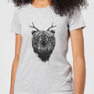 Balazs Solti Dear Bear Women's T-Shirt - Grey