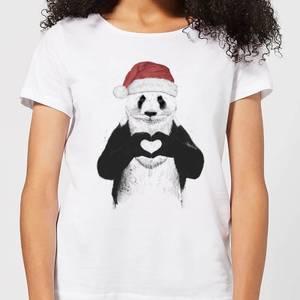 Balazs Solti Santa Bear Women's T-Shirt - White