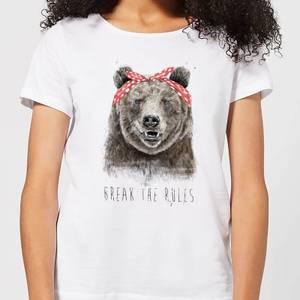 Balazs Solti Break The Rules Women's T-Shirt - White