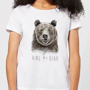 Balazs Solti Ring My Bear Women's T-Shirt - White