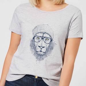 Balazs Solti Lion Women's T-Shirt - Grey