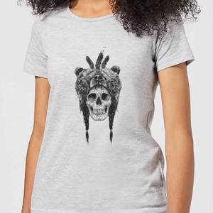Balazs Solti Bear Head Women's T-Shirt - Grey