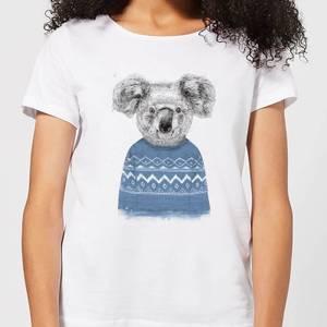 Balazs Solti Koala And Jumper Women's T-Shirt - White