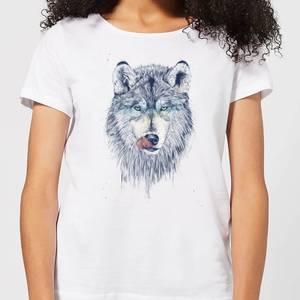 Balazs Solti Wolf Eyes Women's T-Shirt - White