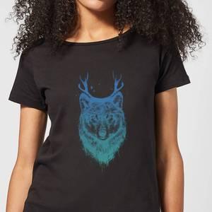 Balazs Solti Wolf Women's T-Shirt - Black