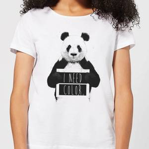 Balazs Solti I Need Color Women's T-Shirt - White