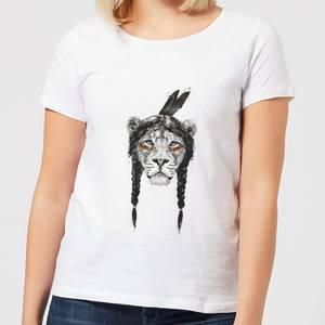 Balazs Solti Native Lion Women's T-Shirt - White