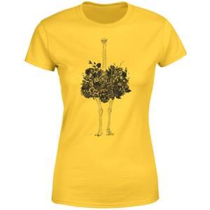 Balazs Solti Ostrich Women's T-Shirt - Yellow