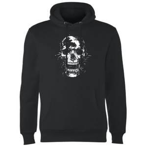 Balazs Solti Skull Hoodie - Black