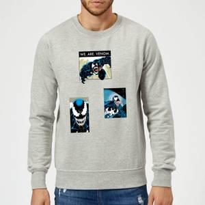Venom Collage Pullover - Grau