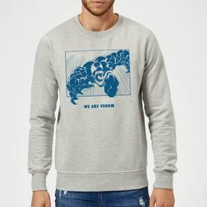 Venom We Are Venom Sweatshirt - Grey