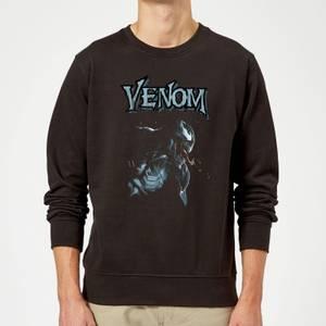 Sudadera Marvel Venom Perfil - Hombre - Negro