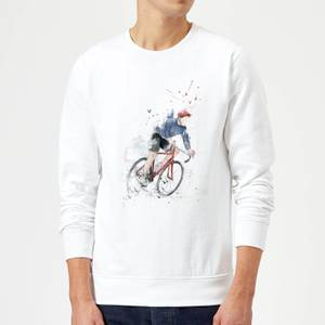 Balazs Solti Cycler Sweatshirt - White