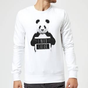 Balazs Solti I Need Color Sweatshirt - White