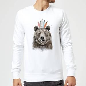Balazs Solti Native Bear Sweatshirt - White