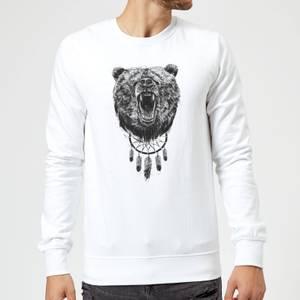 Balazs Solti Dreamcatcher Bear Sweatshirt - White