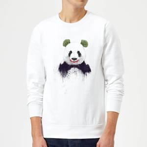 Balazs Solti Joker Panda Sweatshirt - White