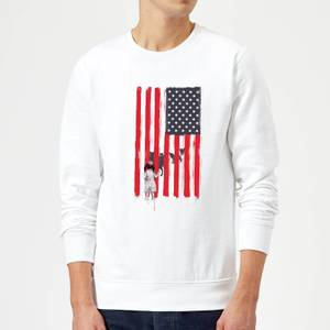 Balazs Solti USA Cage Sweatshirt - White