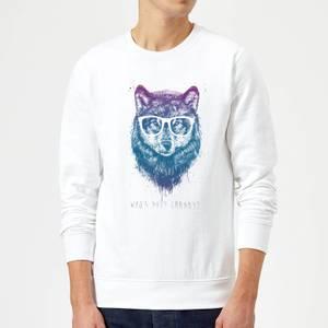 Balazs Solti Who's Your Granny? Sweatshirt - White
