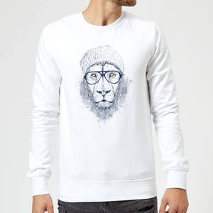 Balazs Solti Lion Sweatshirt - White