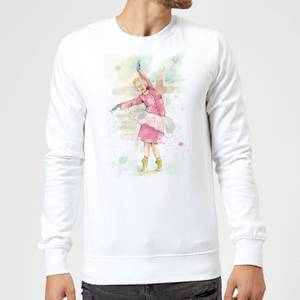 Balazs Solti Dancing Queen Sweatshirt - White